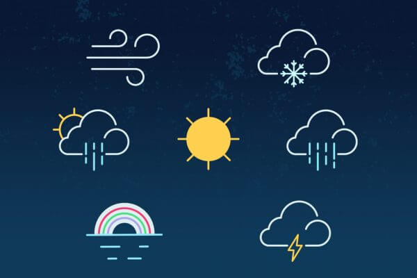 Vädret i Amsterdam
